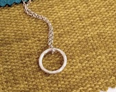 Tiny ring pendant Sterlin...