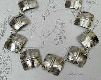 Squares Bracelet Sterling Silver