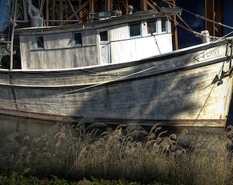 The Boat Jenny from the Movie Forest Gump - A Fine Art Photograph