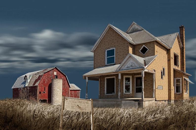 Abandoned Farm Farm for Sale Farm House Red Barn Michigan ...