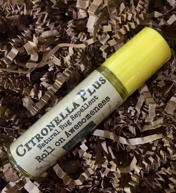 Citronella Plus 10ml roll on essential oil bug repellent