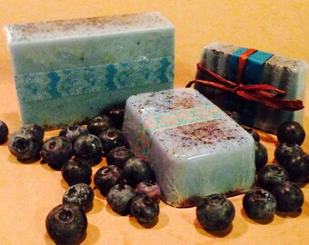 Blueberry Goats Milk Hand Soap, 3 sizes