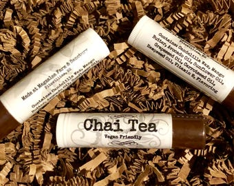 Vegan friendly Chai Tea Lip Balm