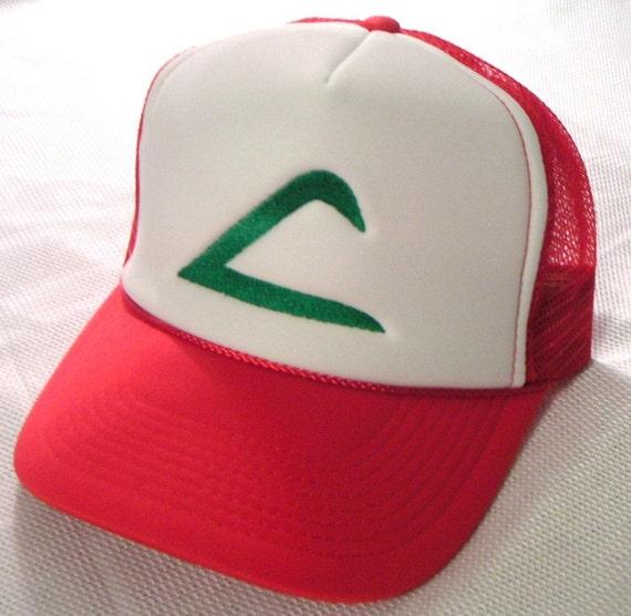 ADULT Size Pokemon Costume Hat Ash Ketchum Original Trainer  244cc477319