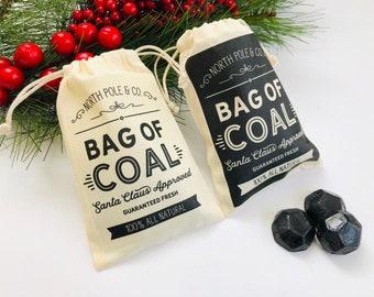Lump Of Coal For Christmas.Christmas Coal Etsy