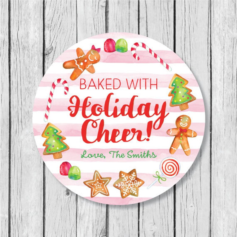 De Noël 48 Étiquettes Autocollants Personnalisées de Santa de Noël étiquettes pour Cadeaux Amusant.
