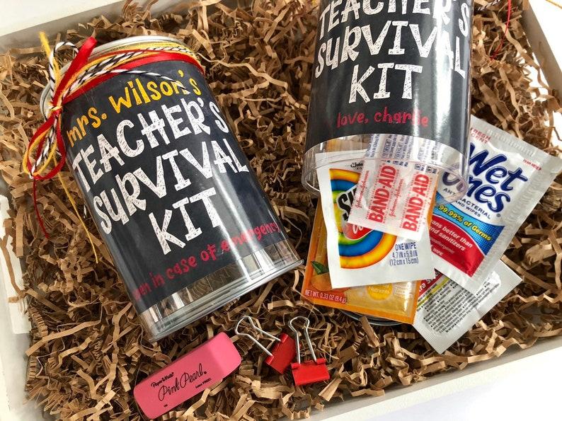 Survival Kit Gift for Teacher Appreciation Day Unique Teacher image 0