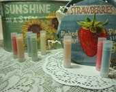 Smooth and Silky Lip Balm Blue Raspberry, Vanilla Icing, Chocolate, Cafe Latte, and many more