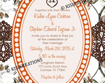 Mossy Oak Invitations Etsy