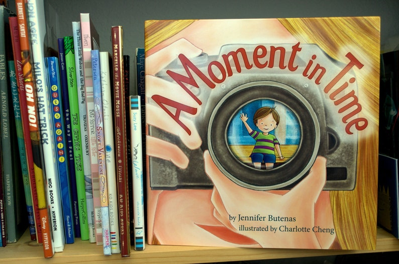 A Moment in Time  Picture Book image 0