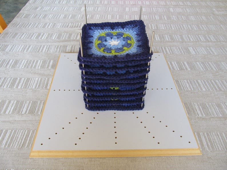 Crochet Blocking Board With Extra 8 X 200mm Pins Etsy