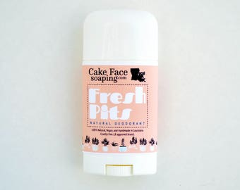 Natural deodorant made with rose water talc-free aluminum free