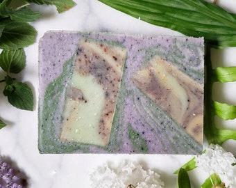 Lavender Vanilla natural vegan soap