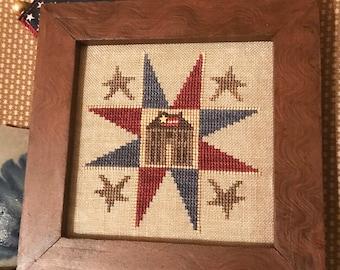 American Home - Cross Stitch Pattern