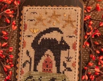 Wicked Cute Cat ~ Cross Stitch Pattern