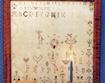 Reproduction Sampler I - Unfinished - Cross Stitch Design