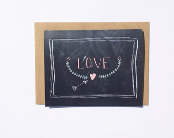 Personalized Valentine's Day - Wedding - Anniversary - Greeting Card