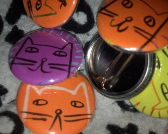 Little Kitty Pin Two-Pack