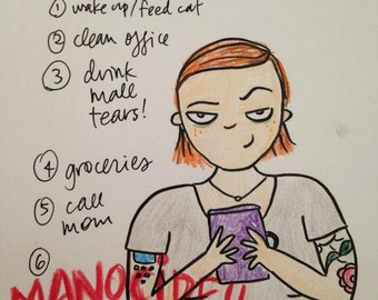 What's on YOUR Vagenda of Manocide?