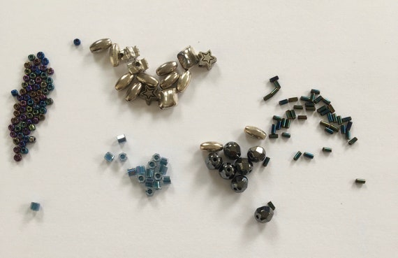 Sale pack, high quality Japanese seed beads, bugle beads plus spacer beads and 6mm crystals