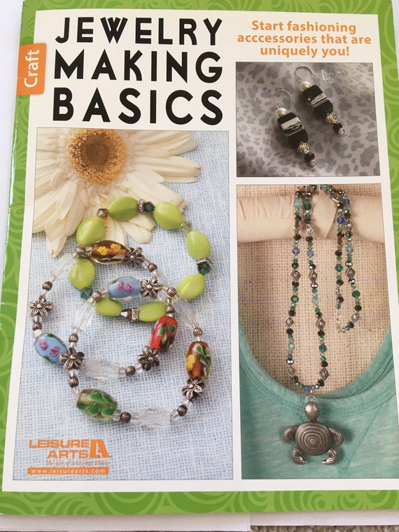 Book, jewelry making basics, project book, bead book