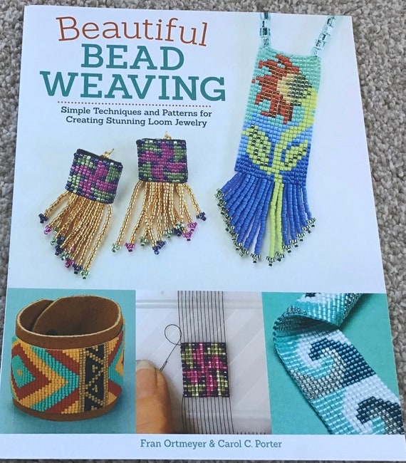 Book, Beautiful Bead Weaving, Simple techniques and patterns for creating stunning loom jewellery