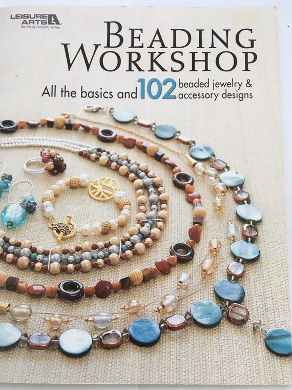 Bead book, beading workshop, lots of beaded ideas and projects