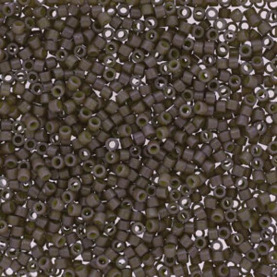 5g DB2365 Miyuki Delica Bead Duracoat Ash Grey