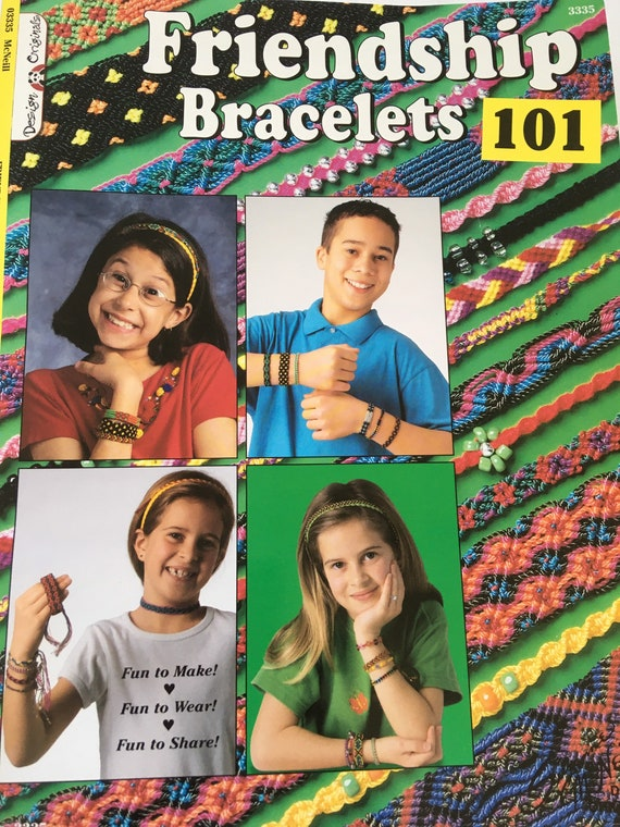 Friendship Bracelets book