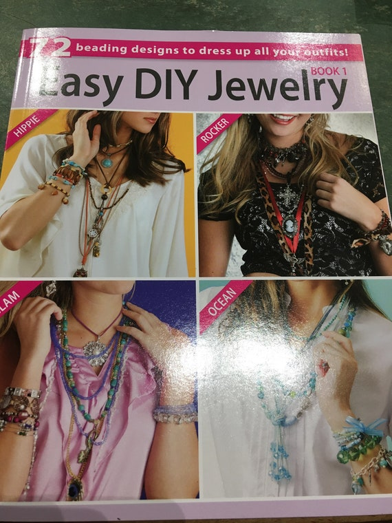 Easy DIY Jewelry Book, beading designs, patterns and instructions