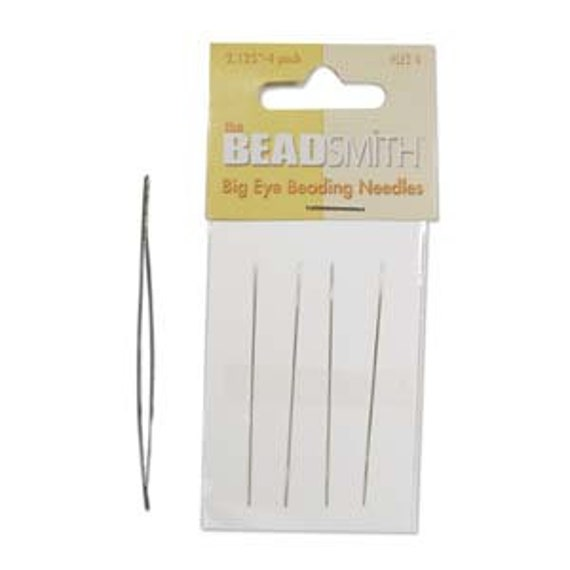 Big eye needle, beading needle, needle with a big eye