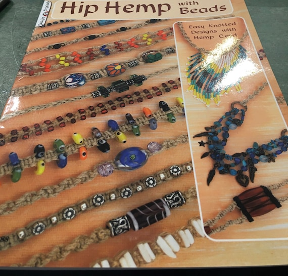 Hemp jewellery with beads book