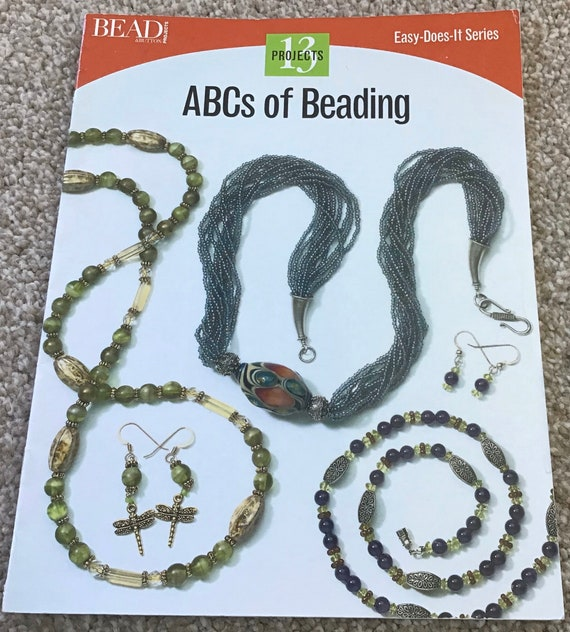 Book, ABCs of beading, bead book, patterns and techniques