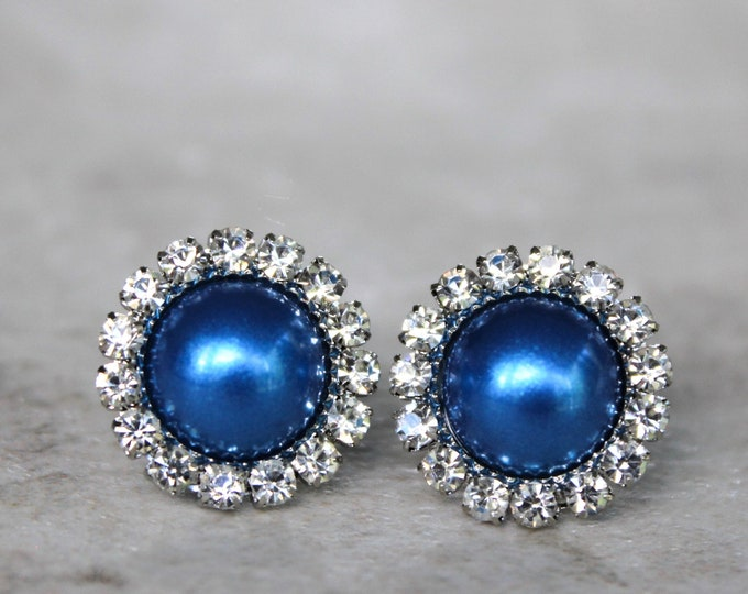 Royal Blue Bridesmaid Earrings