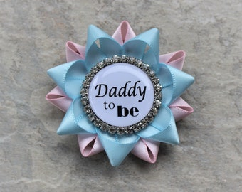 Daddy to Be Pin, Grandpa to Be Pin, New Dad Gift, New Grandpa Gift, Baby Shower Pins, Uncle to Be, Papa to Be, Boutonniere, Lapel Pin
