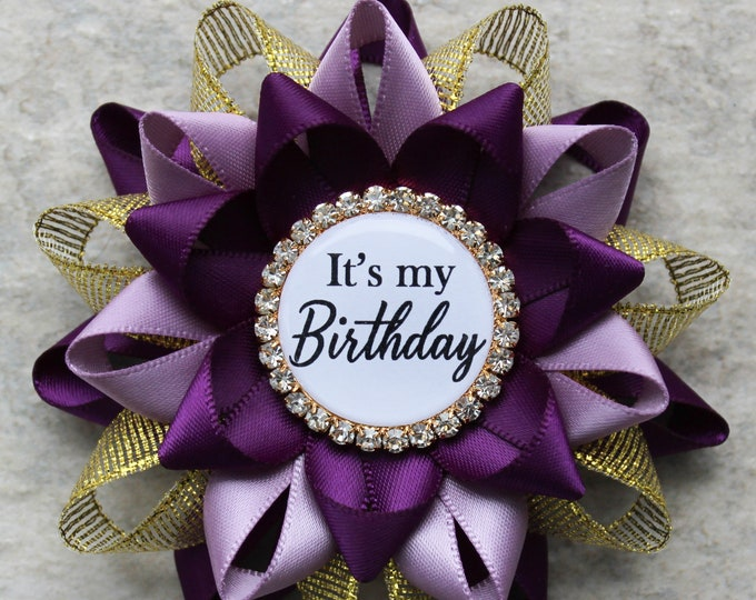 Its My Birthday Pin Gift Ideas for Her