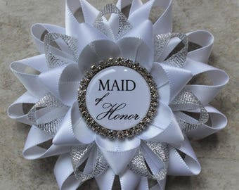 Maid of Honor Gift, Bridal Shower Pins, Bachelorette Party Pins, Matron of Honor, Bridesmaid Gift, Sister of the Bride Gift, Sister of Groom