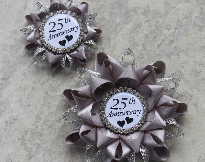25th Anniversary Gift, 25 Year Anniversary Gift, Silver Wedding Anniversary, Party Decorations, 25th Anniversary Gift for Parents