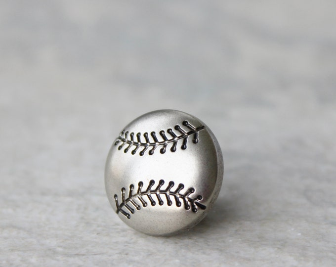 Baseball Gifts, Baseball Coach Gift, Coaches Gift, Baseball Pin, Baseball Tie Tack for Men, Baseball Fan Gift, Sports Gifts for Him, Dad