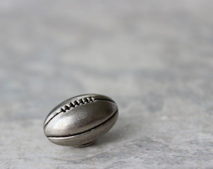 Sports Gift, Football Fan Gift, Football Pin, Football Tie Tack Pin, Mens Gifts, Coaches Gift, Gift for Football Coach