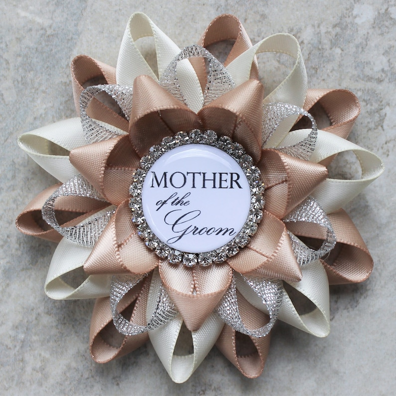 Bridal Shower Corsage Pin, Mother of the Groom Flower