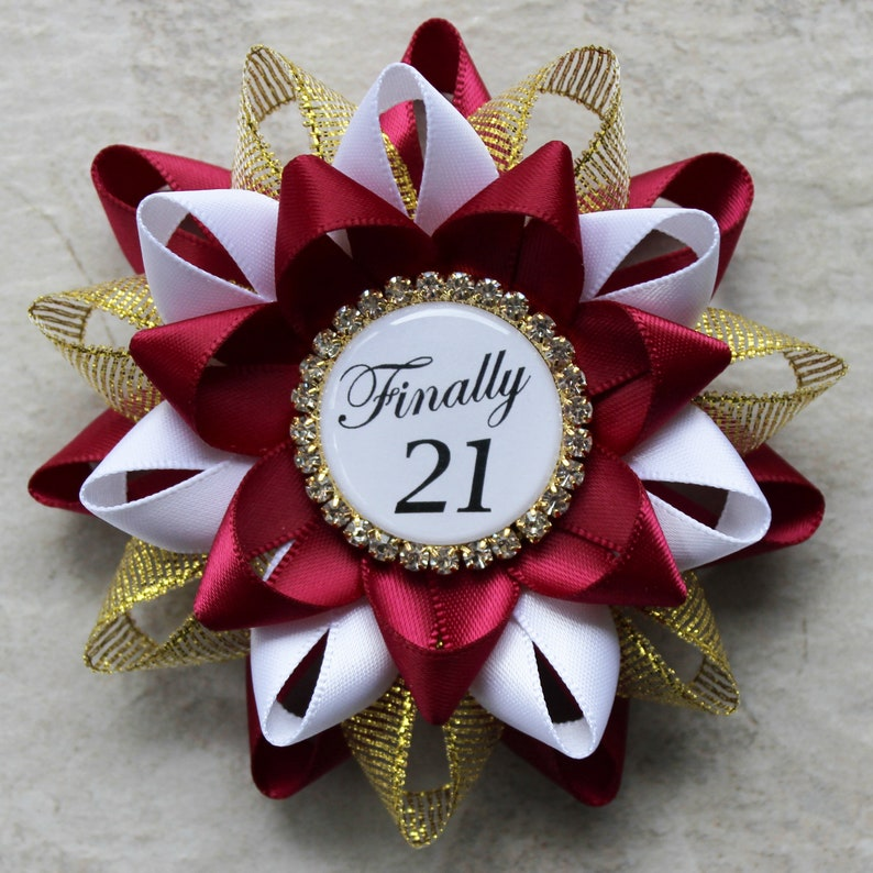 Finally 21 21st Birthday Decorations 21st Birthday Gift for image 0