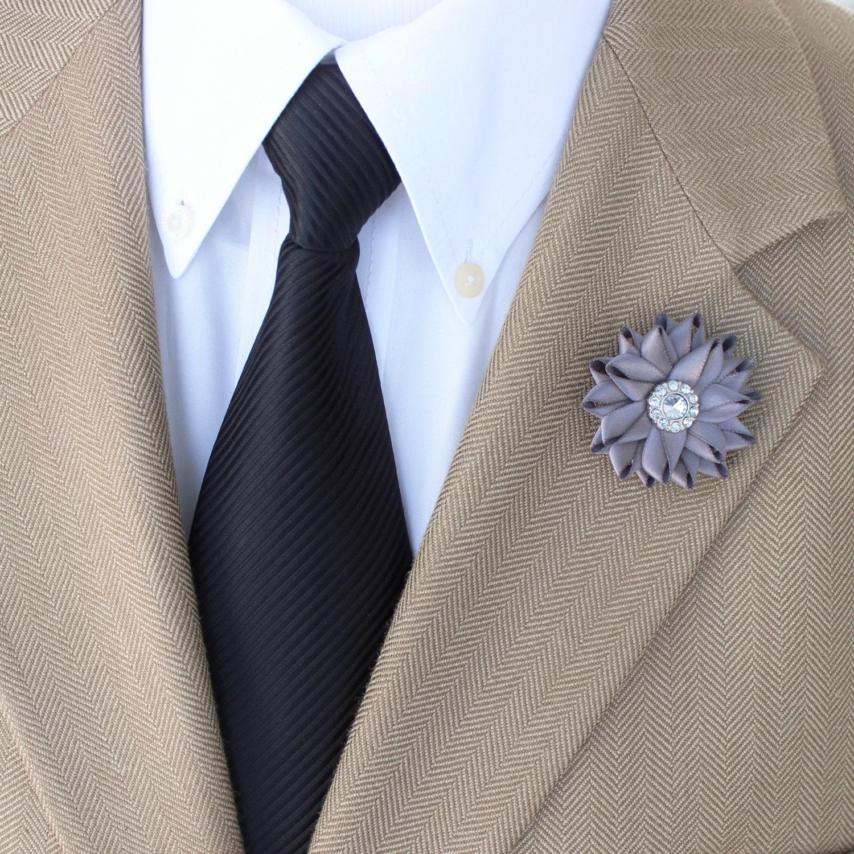 aa8bbbf0057cf Mens Gifts Lapel Flower Custom Lapel Pin Mens Fashion | Etsy