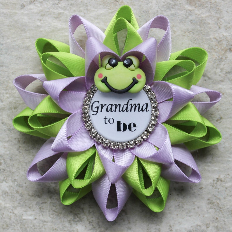 Frog Baby Shower Pins Frog Baby Shower Decorations Etsy
