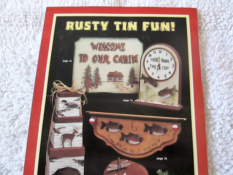 Pattern Book 35 pages new The Rustic Lodge Book 2