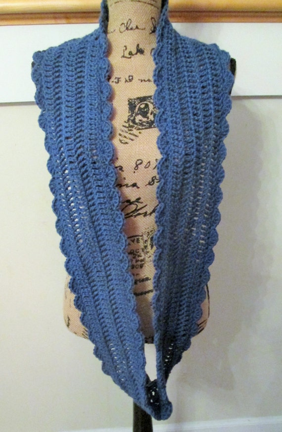 Crochet Pattern For Infinity Scarf Etsy