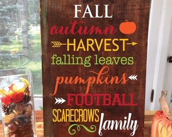 STENCIL - DIY Sign - Stencils for Signs - Letter Stencils for Wood - Vinyl Stencils - Wall Stencils for painting - Make Signs - Fall Decor