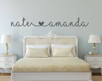 wall decals for bedroom Bedroom wall decal | Etsy wall decals for bedroom