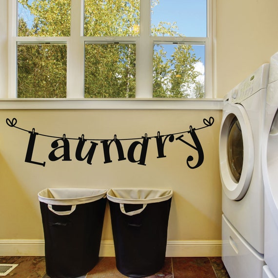laundry room wall decals laundry room decal laundry room wall decor