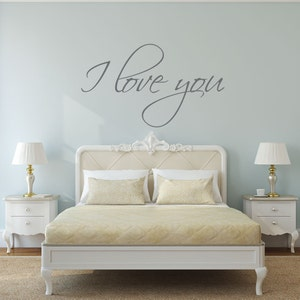 popular items for bedroom wall decal - Bedroom Wall